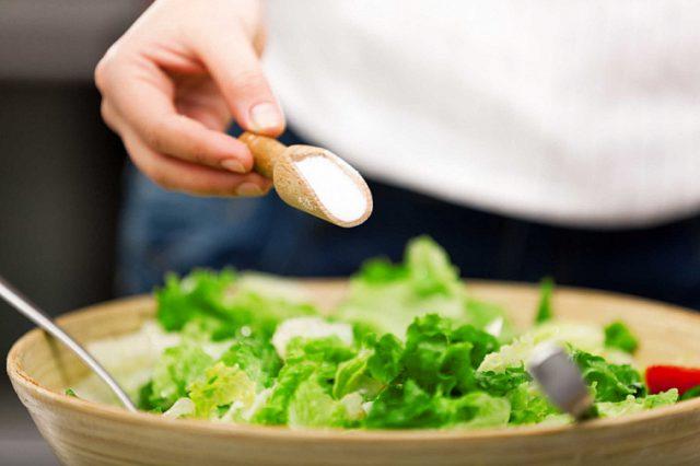 ăn nhat, sử dụng ít muối giúp mau lành vết thương áp xe hậu môn
