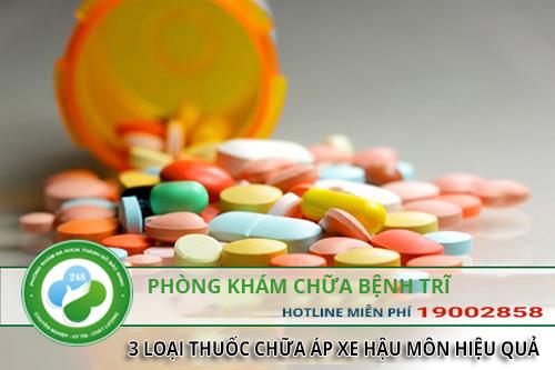 Áp xe hậu môn uống thuốc gì? 3 loại thuốc chữa apxe hậu môn