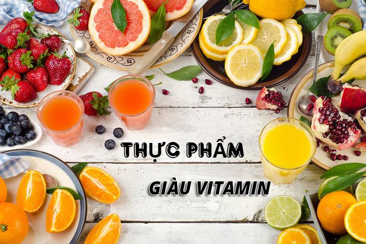 thực phẩm giàu vitamin