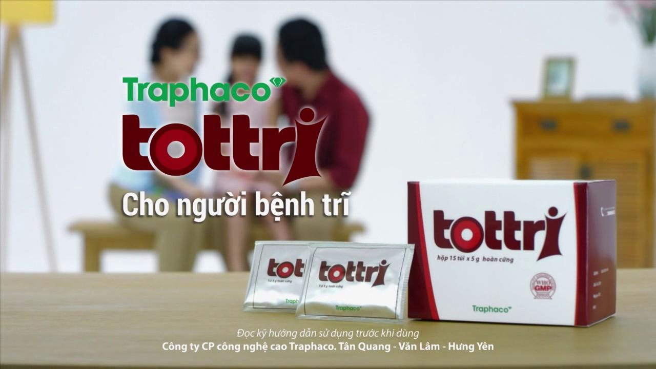 Tottri thuốc điều trị bệnh trĩ của công ty dược phẩm Traphaco
