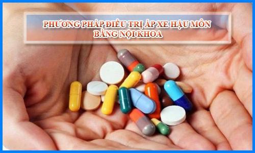 Điều trị nội khoa, phương pháp điều trị không cần mổ áp xe hậu môn