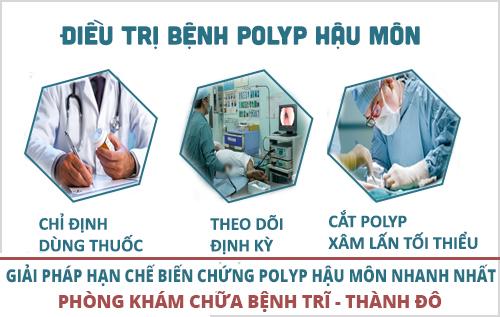 Phẫu thuật cắt polyp hậu môn giải pháp điều trị polyp hậu môn triệt để
