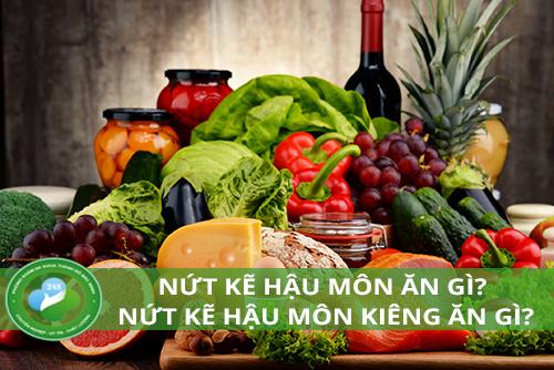 Nứt kẽ hậu môn nên ăn gì và kiêng ăn gì?