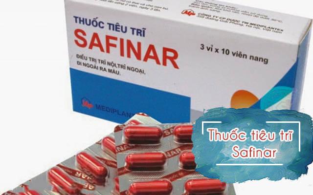 Safinar: Giải đáp tất tần tật về thuốc safinar điều trị bệnh trĩ 2019