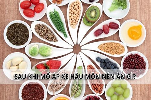 đảm bảo chế độ dinh dưỡng sau mổ áp xe hậu môn để tránh tái phát