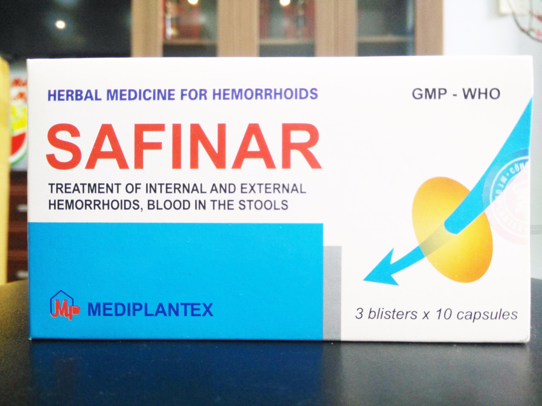 Tác dụng của thuốc Safinar như thế nào?