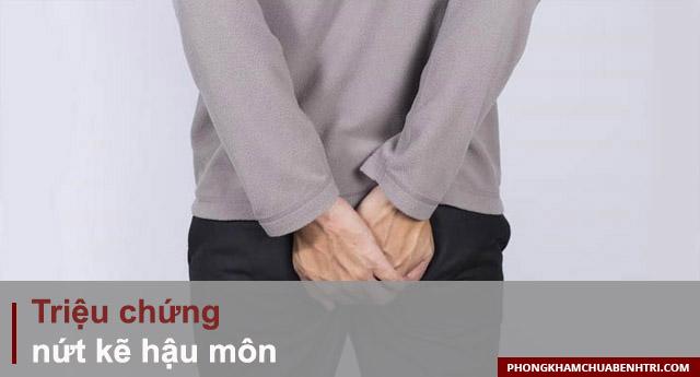 các triệu chứng của bệnh nứt kẽ hậu môn thường gặp