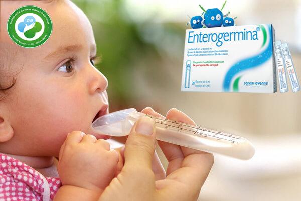 cách sử dụng enterogermina cho trẻ sơ sinh
