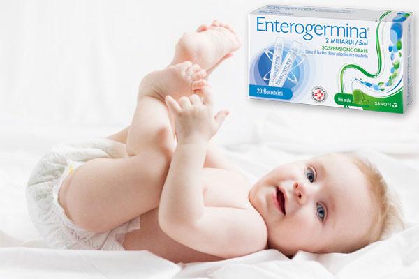 Enterogermina cho trẻ sơ sinh