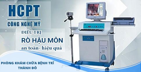 Phương pháp chữa rò hậu môn bằng HCPT tốt nhất 2019