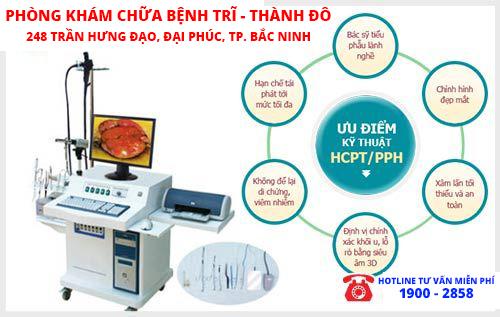 phẫu thuật ngoại khoa - kỹ thuật HCPT là cách chữa polyp hậu môn triệt để