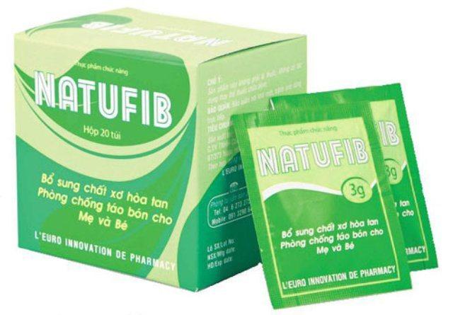 natufib sản phẩm điều trị táo bón cho mẹ bầu, trẻ nhỏ cực hiệu quả