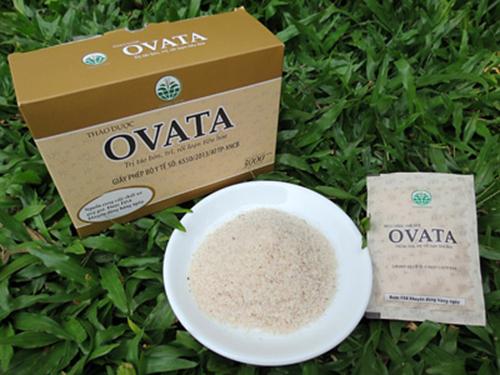 Ovata chứa 100% thảo dược nguyên chất