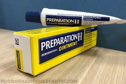 Preparation H - thuốc trị các bệnh hậu môn