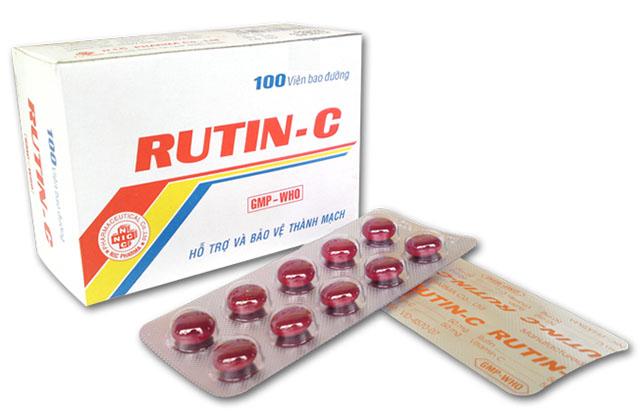 rutin c là thuốc gì?