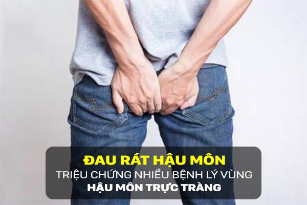 triệu chứng đau hậu môn