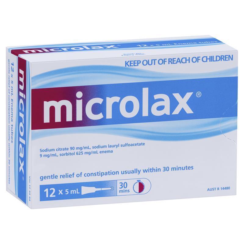 thuốc thụt táo bón microlax