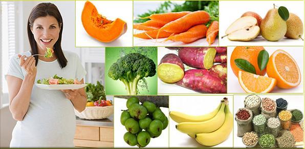 ăn nhiều rau xanh để điều trị táo bón cho bà đẻ