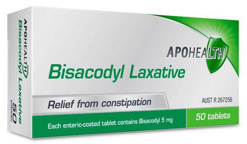 Bisacodyl thuốc trị táo bón