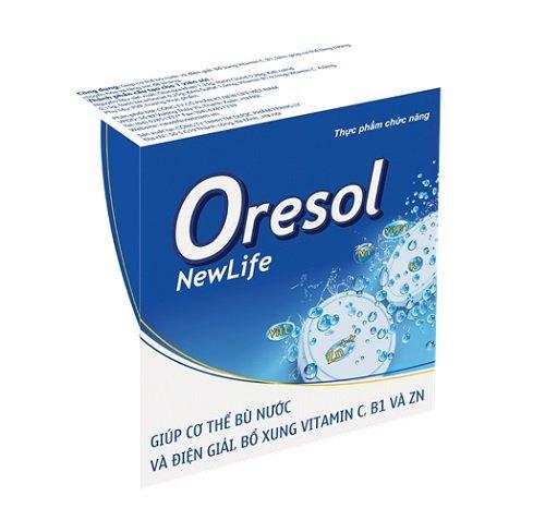 điều trị đi ngoài phân sống bằng điện giải oresol