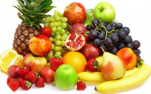 hoa quả và rau xanh tốt cho những người vừa cắt polyp đại tràng